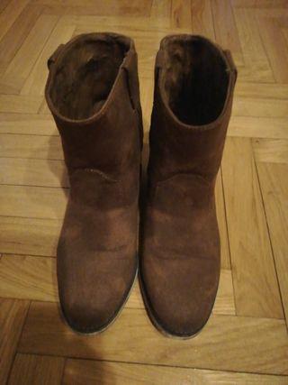 botín marrón leffties