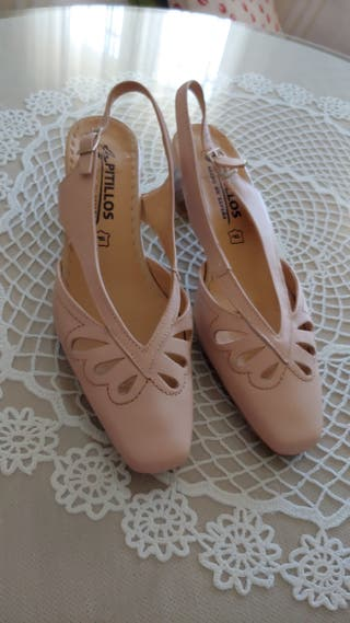 Zapatos Pitillo beige