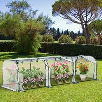 Invernadero Caseta para Jardín Terraza Cultivo de
