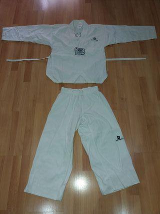 Disfraz kimono taekwondo niño