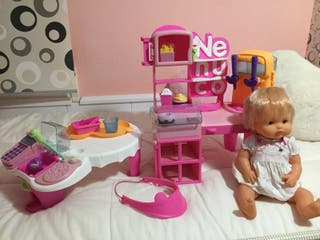 restaurante Nenuco +muñeca