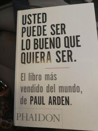 """Libro """"Usted puede ser lo bueno que quiera ser"""""""