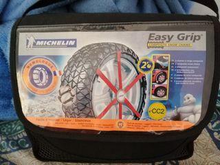cadenas nieve easy grip para autocaravana o 4x4