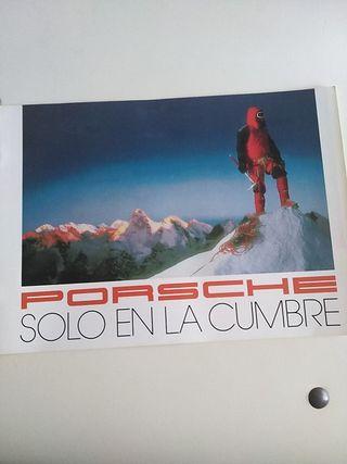 catálogo Porsche solo en la cumbre, finales de los