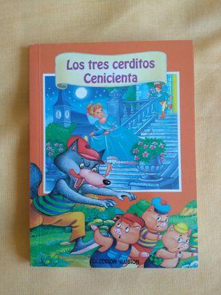 Libro 'Los tres cerditos/La cenicienta'