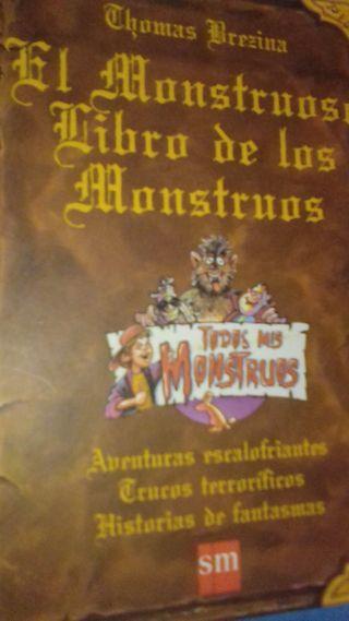 Libro El Monstruoso Libro de los monstruos