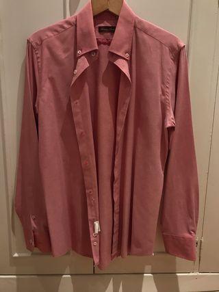 Camisa Rosa Antonio Bacci