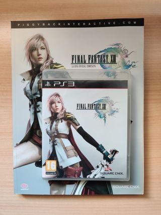 Final Fantasy XIII + Guía oficial