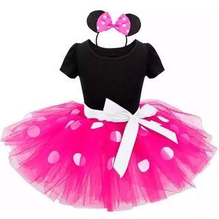 disfraz bebé niña nuevo Minnie 12/18 meses