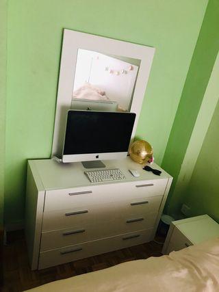 Dormitorio completo blanco