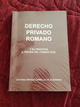 libro derecho privado romano