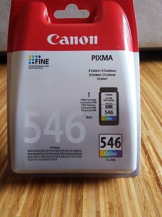 cartucho tinta impresora canon pixma 546