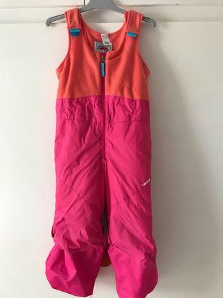 Conjunto ropa esquí niña