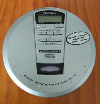Reproductor portátil de MP3-CD.