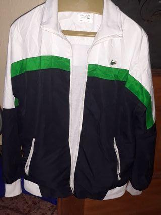 chaqueta de chándal lacoste