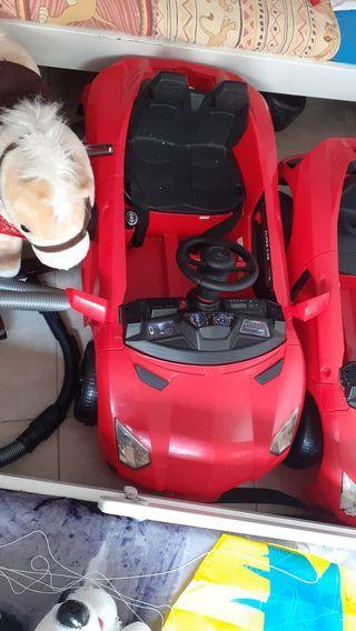 Lamborghini rojo