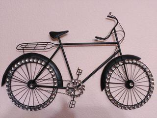 Bicicleta decorativa pared