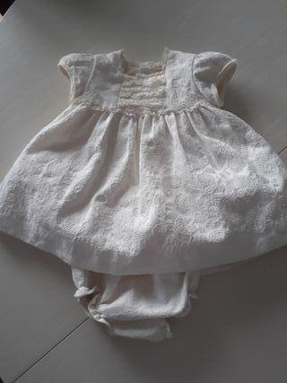 Vestido dulces ceremonia bebé