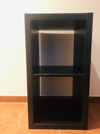 Mueble cubo negro