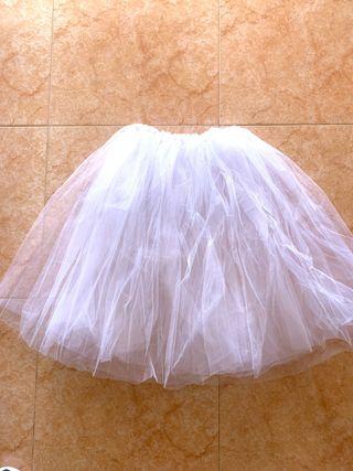 Tutú bailarina blanco