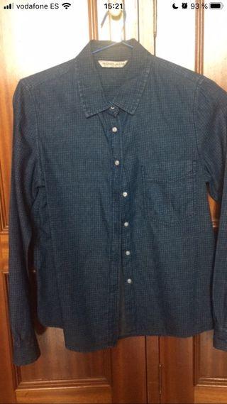 Camisa azul marina