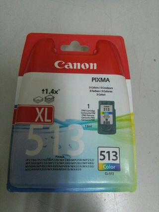 Se vende cartucho de tinta Canon 513 XL color ORIG