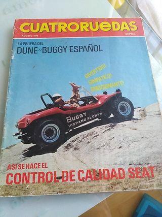 revista cuatro ruedas agosto 1970