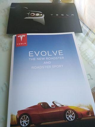 catálogo original Tesla Roadster