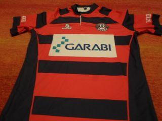 camiseta ordizia rugby jugador euskadi