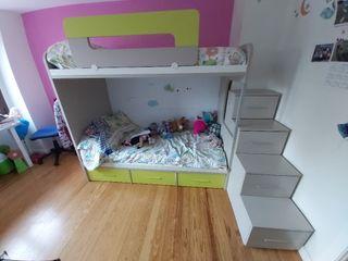 habitacion infantil litera