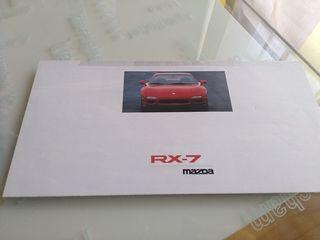 catálogo Mazda RX7