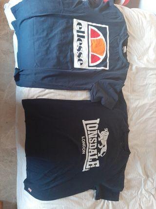 Camiseta Lonsdale y Ellesse Talla M