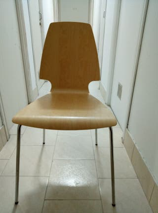 sillas IKEA madera