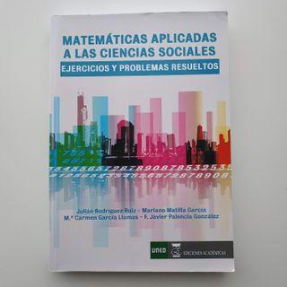 MATEMATICAS APLICADAS A LAS CIENCIAS SOCIALES Ejer