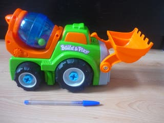 URGE - Grúa juguete hormigonera niño niña