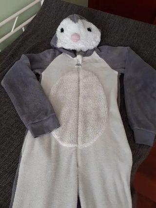 disfraz animal pijama