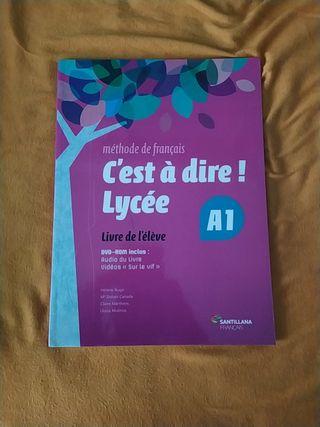 Libro de texto francés nivel A1