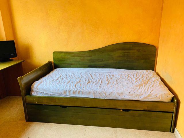 Cama nido y escritorio