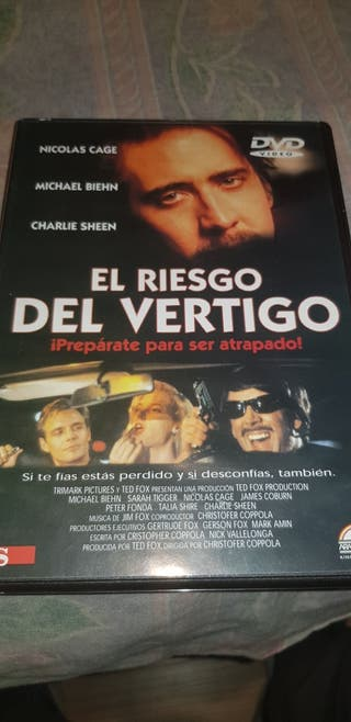 DVD EL RIESGO DEL VERTIGO