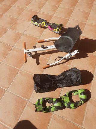 Hoverboard completo con silla kart