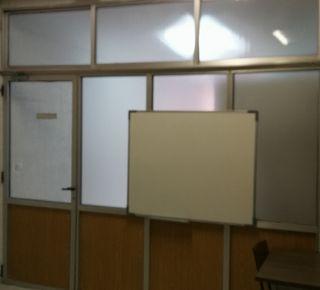 Mampara separatoria oficina