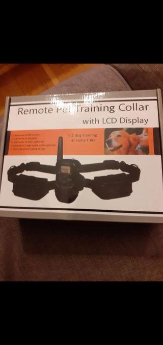 Collar de perro para adiestramiento