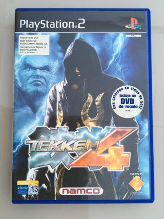 Videojuego PS2 Tekken 4