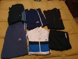 conjunto ropas deportivas
