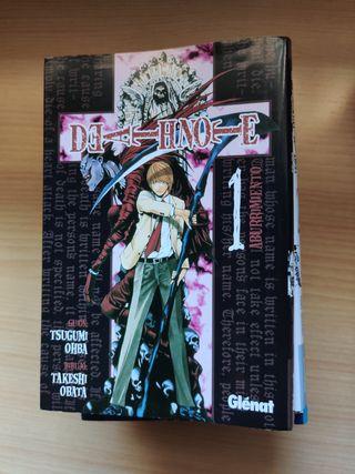 Manga Death Note 1-7