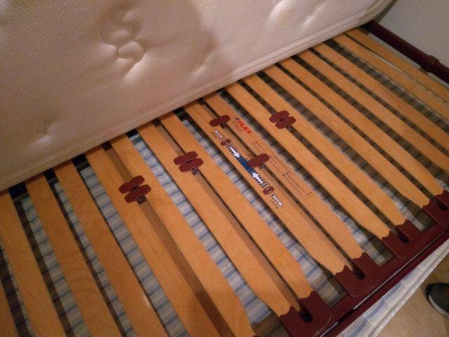 cama nido + colchones en Castello