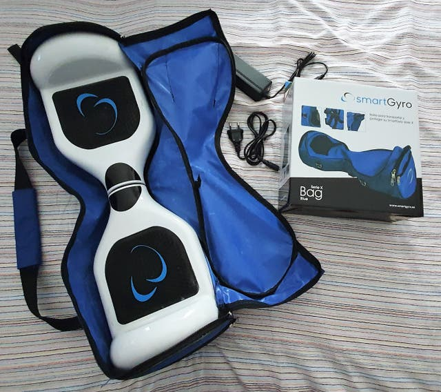 Patin Hoverboard SmartGyro X1S+Go-Kart Pro2+Bolsa