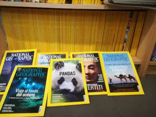 Lote revistas National Geographic.