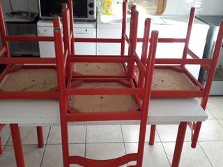 taple , les chaise, meuble