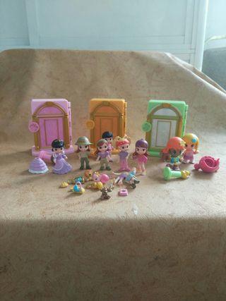Lote de muñecas, infantil, juguete, niña